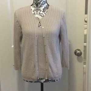 NWOT.  Ladies two piece coordinating sweater set